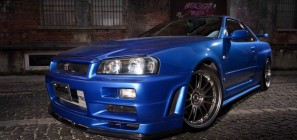 Paul Walker R34 Skyline GT-R