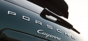 Porsche Cayenne Diesel - rear badge