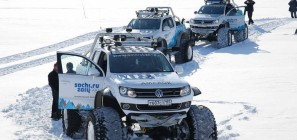 VW Amarok Polar Expedition