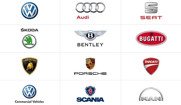 Volkswagen Auto Group Brands