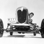 William Clay Ford on Dearborn Test Track at age of 14