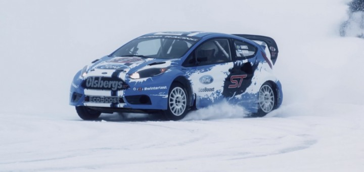Image courtesy of Ford Racing/YouTube.