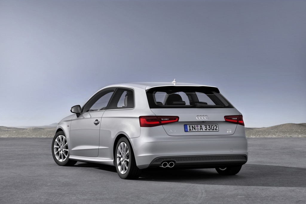 German-market 2014 Audi A3 3-door hatch