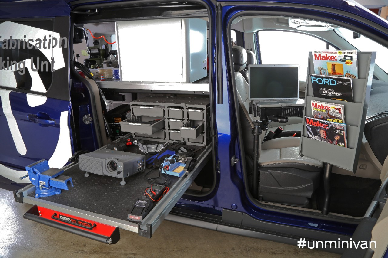 Interior Shelving Ford Transit Connect