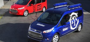 2014 Ford Transit Connect Happy Mutant Mobile and Hackmobile