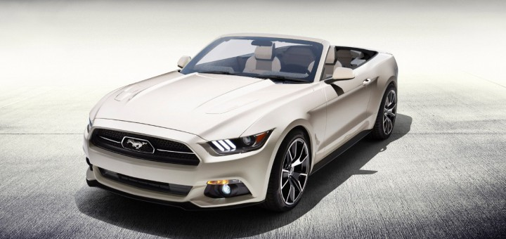 2015 Ford Mustang 50th Anniversary Convertible