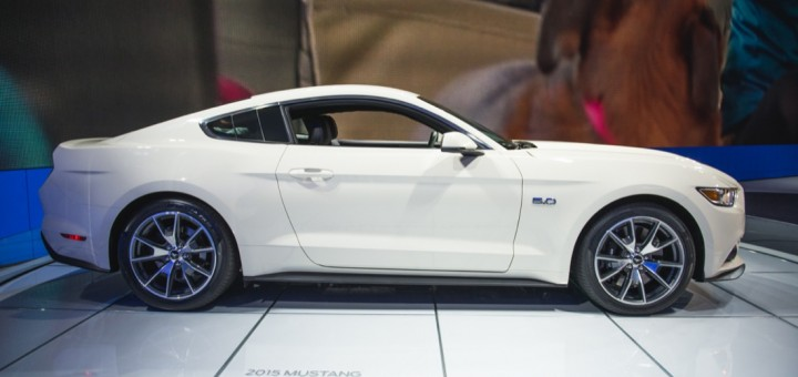 2015 Ford Mustang 50th Anniversary Limited Edition 30