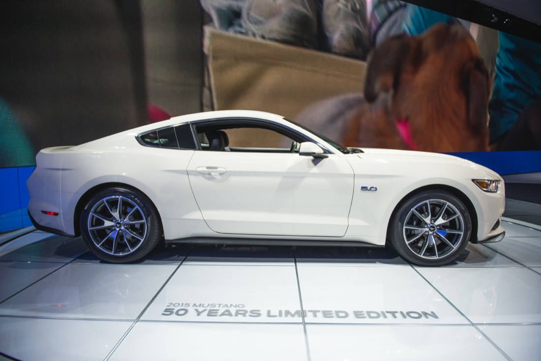 Wordless Wednesdays 2015 Mustang 50th Anniversary Edition