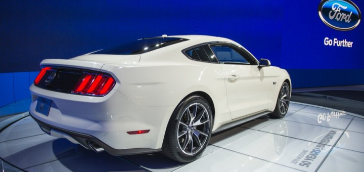 2015 Ford Mustang 50th Anniversary Limited Edition 32