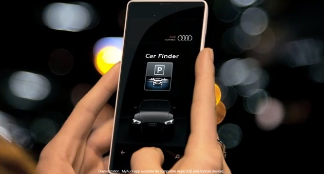 Audi MMI Connect App - Car Finder