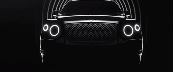 Bentley SUV Teaser Video