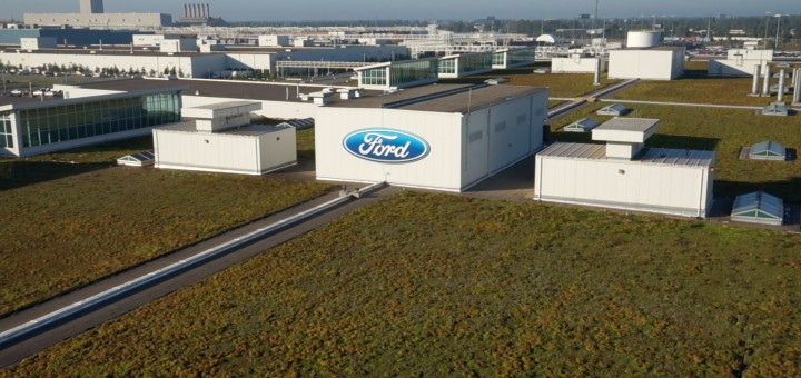 The Living Roof - Dearborn Truck Plant