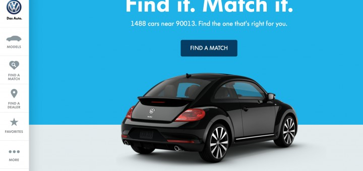 Volkswagen-revamped-website