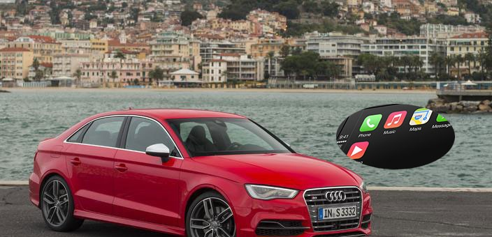 2015 Audi S3 Sedan with Apple CarPlay