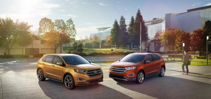 2015 Ford Edge Titanium and Sport