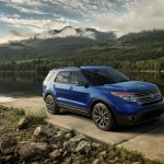 2015 Ford Explorer - Blue 1