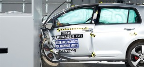 2015 VW Golf GTI IIHS Crash Test