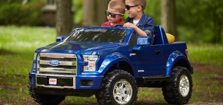 Fisher-Price-Ford-Power Wheels-F150