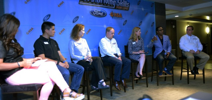 Ford Driving Skills for Life at Citi Field - panel