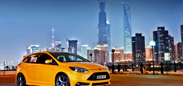 Ford Focus ST in China