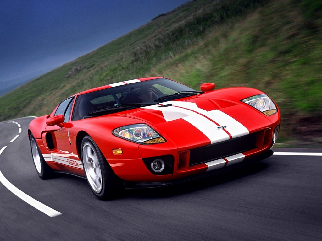 The Ford GT had an all-aluminum body