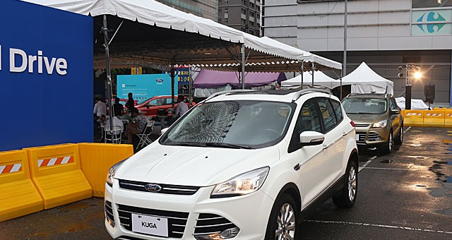 Ford Kuga with experimental V2V tech 1