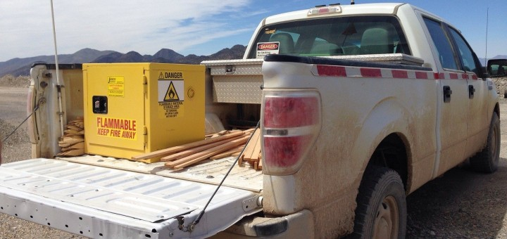 Ford quietly tests aluminum cargo box of 2015 F-150 2