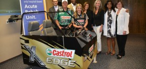John-Force-Castrol-simulator-St-Josephs-hospital