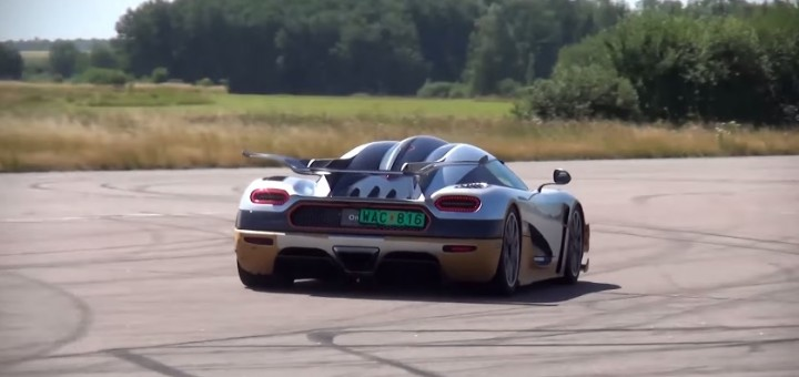 Koeniggsegg One1 Video