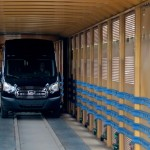 Ford Designs Innovative Railcar to Ship All-New Transit Van