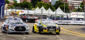 VW Polo GRC Washington DC June 2014 - Tanner Foust