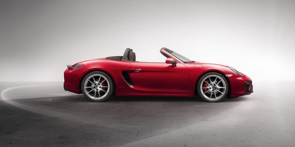 2015 Porsche Boxster Side View