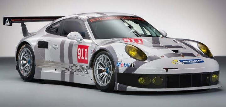 The current Porsche 911 RSR, pictured, will gain a few revisions for 2015