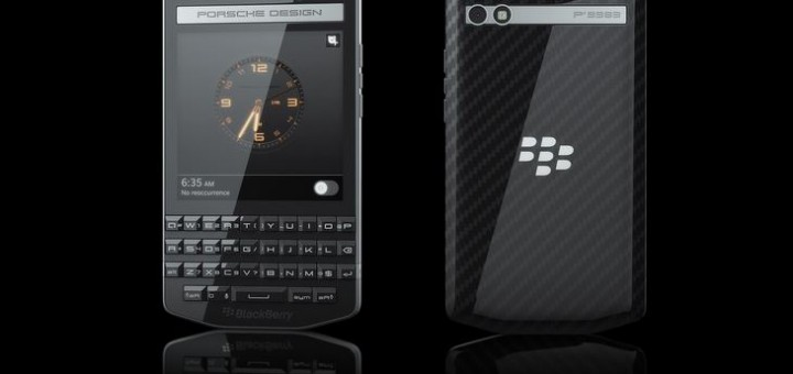 Porsche Design Smartphone Blackberry