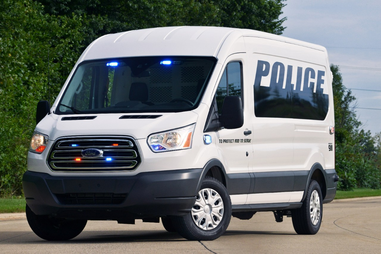 2015 Ford Transit Prisoner Transport Vehicle