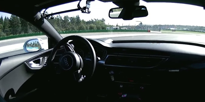 Audi RS7 Piloted Driving Concept Video