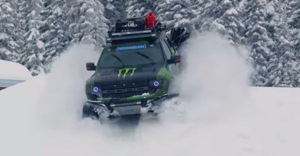 Ken Block Ford Raptor Trax