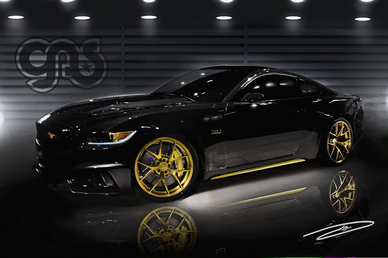 galpin auto sports 2015 mustang sema 2014. Black Bedroom Furniture Sets. Home Design Ideas