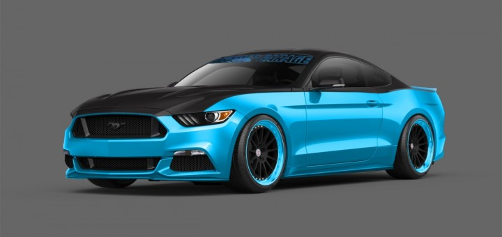 SEMA 2014 - Petty's Garage 2015 Ford Mustang S550