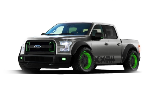 SEMA 2014 - Vaughn Gittin Jr. 2015 Ford F-150