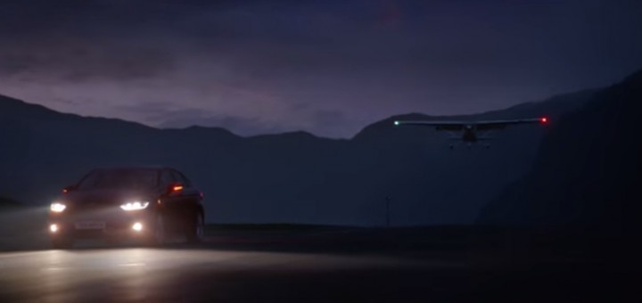 2015 Ford Mondeo Ad Commercial Night Flight