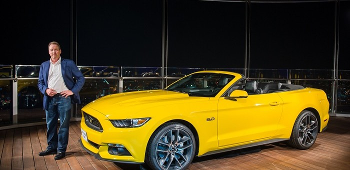 2015 Ford Mustang Burj Khalifa Bill Ford