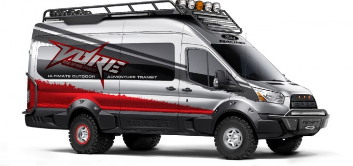 2015 Ford Transit Vegas Off-Road Experience - SEMA 2014
