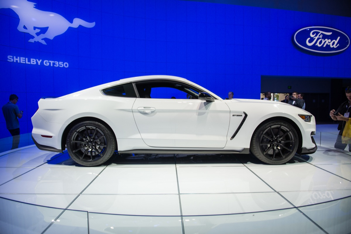 All Types mustang gt350 2016 : Shelby GT350 Convertible Won't Happen