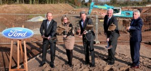 Ford breaks ground on new Wind Tunnel in Cologne, Germany