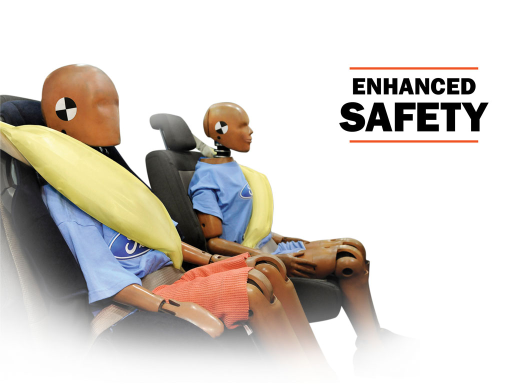Ford Inflatable Safety Belt