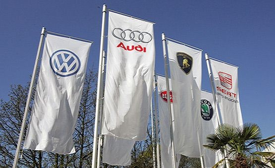 Volkswagen Auto Group flags