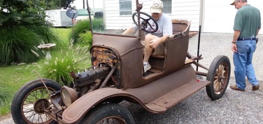 1921 Ford Model T starts after 6 years