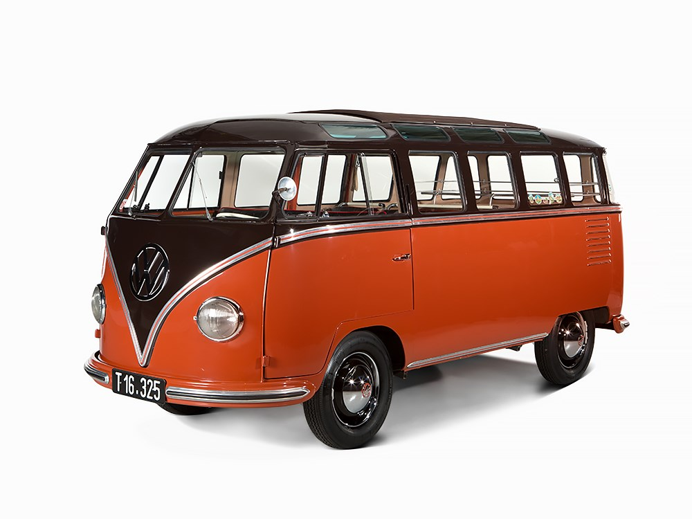 1955 Vw Microbus Sells For 235 000 At Auction
