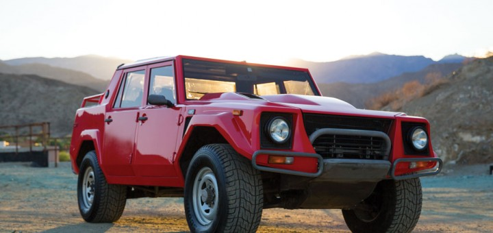 1989 Lamborghini LM002 For Auction 01